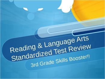 Reading and Language Arts Standardized Test Review