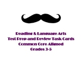 Reading and Language Test Prep Task Cards