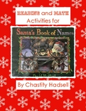 Reading and Math Activities for Santa's Book of Names by D