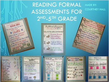 Reading and Math Assessments BUNDLE