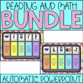 Reading and Math Center Rotation Bundle