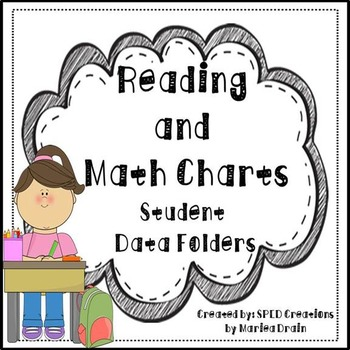 Reading and Math Charts for Data Walls and Student Data Folders