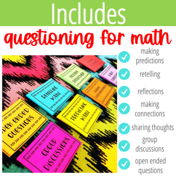 Reading and Math Comprehension Question Stems Bundle