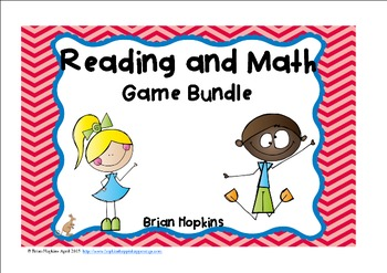Reading and Math Games Growing Bundle Primary Grades