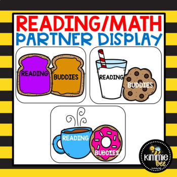 Reading and Math Reading Partner Display