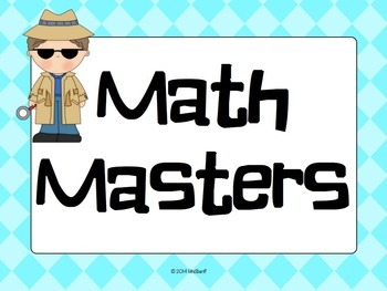 Reading and Math Data Bulletin Board - Detective {Editable}