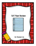 Reading and Math SAT Reading Review Flyer