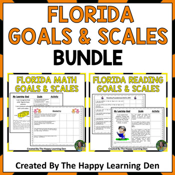 Reading and Math Standards and Scales BUNDLE for 5th Grade