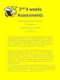 Reading and Math Weekly Assessment Pack 2