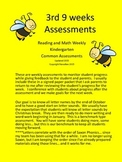 Reading and Math Weekly Assessment Pack 3