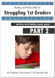 Reading and Phonics Help for Struggling 1st Graders Part 2