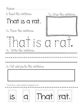 Reading and Printing Simple Sentences: Part 2