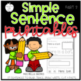 Reading and Printing Simple Sentences: Part 3