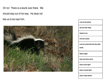 Reading and Responding with Animal Photos