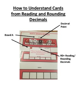 Reading and Rounding Decimals Math Wrath Game