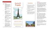 Reading and Social Studies Projects