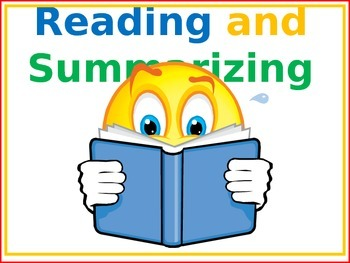 Reading and Summarizing Stories in PPT