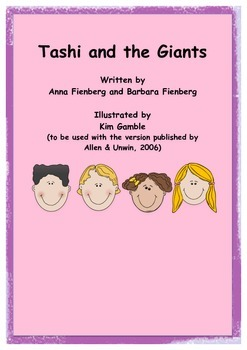 Reading and Understanding Stories: Tashi and the Giants