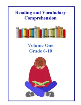Reading and Vocabulary Comprehension Tests, Volume One