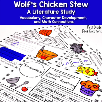 Reading Comprehension,Vocabulary, Math, and Writing Activities