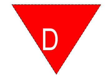 Reading and Write Pennant Banner