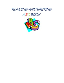 Reading and Writing ABC Book