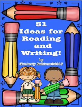 Back to School Activities Reading and Writing! Literacy Centers!