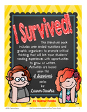 I Survived series by Lauren Tarshis - Writing & Reading Extensions