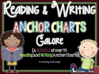 Reading and Writing Anchor Charts {BUNDLED}