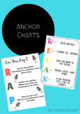 Reading and Writing Anchor Charts: RELAX and RAP