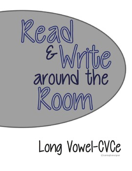 Reading and Writing Around the Room CVCe