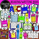 Reading and Writing Buds {Creative Clips Clipart}