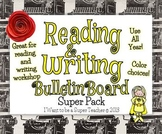 Reading and Writing Bulletin Board Super Pack