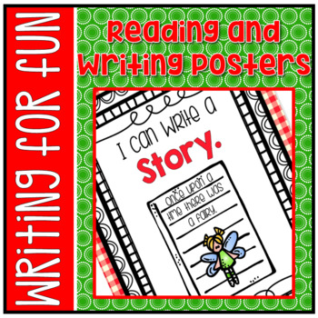 Reading and Writing Center Posters - FREEBIE!