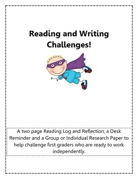 Reading and Writing Challenges