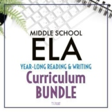 Reading and Writing Curriculum for Middle School   Printab