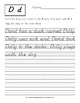 Reading and Writing: D'nealian Handwriting Practice