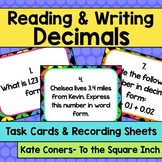 Reading and Writing Decimals Task Cards