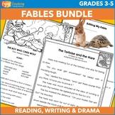 Fables Unit Bundle - Passages, Questions, Plays, Writing P