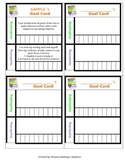 Reading and Writing Goal Cards