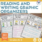 Reading and Writing Graphic Organizers LOWER Elementary