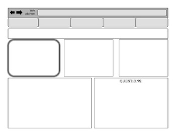 Reading and Writing Graphic Organizers, Templates, Activities, and Prompts