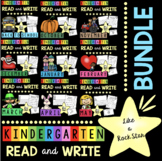 Reading and Writing Kindergarten BUNDLE Comprehension - Guided Reading Groups
