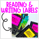 Reading and Writing Labels!