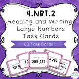 4.NBT.2 Task Cards - Print and Digital | Distance Learning