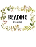 Reading and Writing Lesson Plan Binder Cover