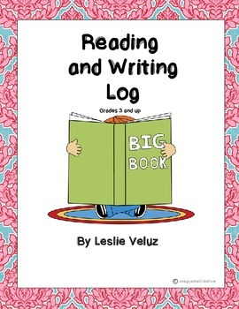 Reading and Writing Log for the Intermediate Grades