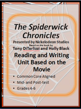 The Spiderwick Chronicles Reading and Writing Movie Guide