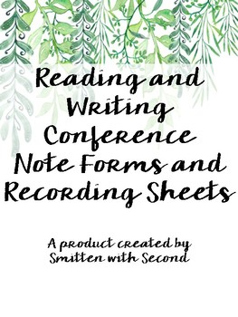 Reading and Writing Notes Forms