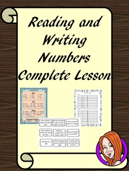 Reading and Writing Numbers  Complete Maths Lesson